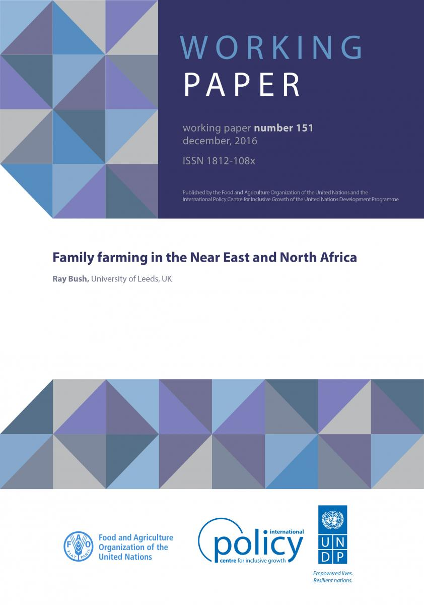 Family farming in the Near East and North Africa – Ray Bush