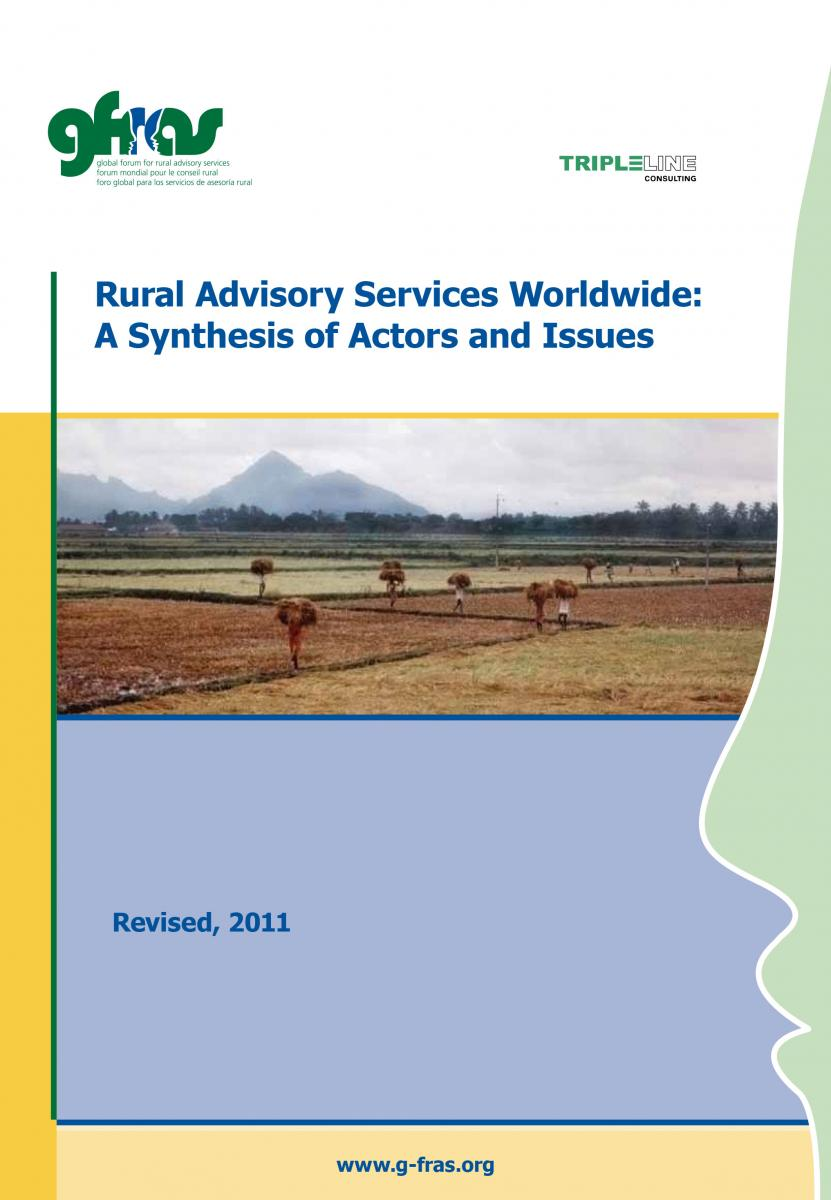 Rural Advisory Services Worldwide: A Synthesis of Actors and Issues